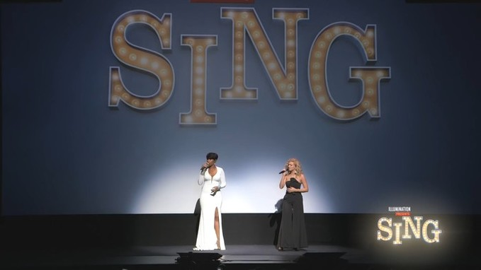 "Jennifer Hudson & Tori Kelly Perform ""Hallelujah"""